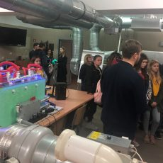 Wizyta uczniów z gminy Szczurowa