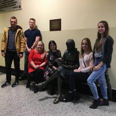 """Nowy zarząd KN """"Kliwent"""" w roku akademickim 2019/2020"""